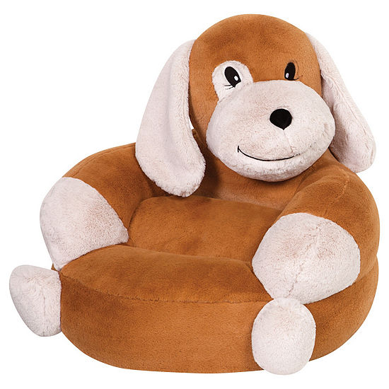 Trend Lab Childrens Plush Puppy Character Chair Kids Chair