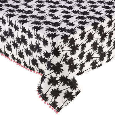 Design Imports Palm Paradise Printed Tablecloth