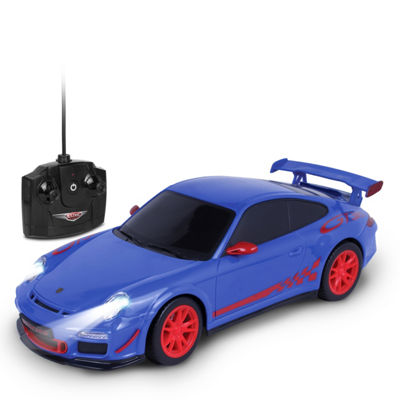 Nkok Luxe 1:18 Scale Radio Controlled Porsche 911Gt3 Rs (Rc) - Colors Vary (Blue/Grey)