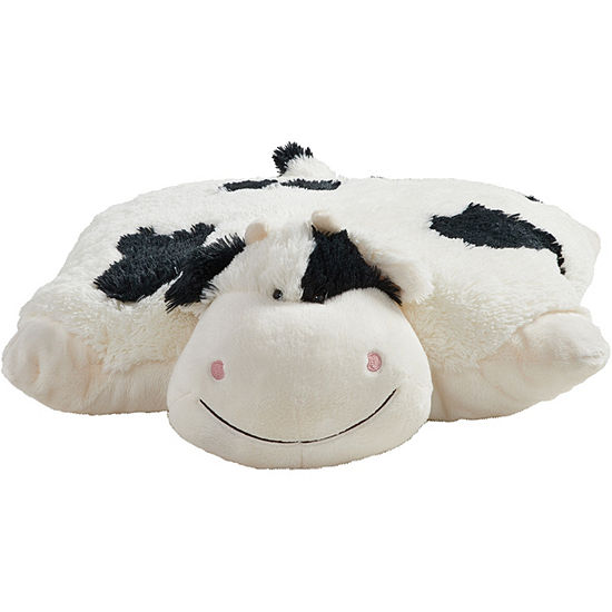 Pillow Pets Signature Cozy Cow Stuffed Animal Plush Toy