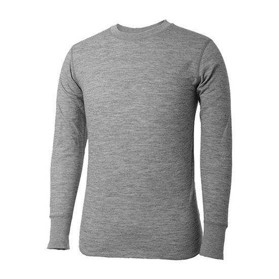 Terramar 2-Layer Merino Wool Crew Shirt - Tall
