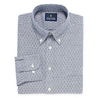 Stafford Travel Wrinkle-Free Stretch Oxford Dress Shirt Deals
