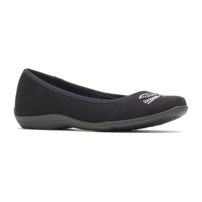 Hush Puppies Womens Kittycat Slip-On Shoes Slip-on Round Toe