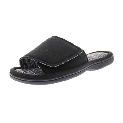Gold Toe Hook and Loop Fastener Slip-On Slippers