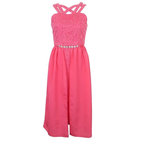 Lilt Sleeveless Party Dress - Preschool / Big Kid Girls