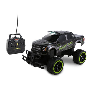 Nkok Mean Machines 1:14 Scale Radio Controlled 2017 Ford F-150 Raptor (Rc)