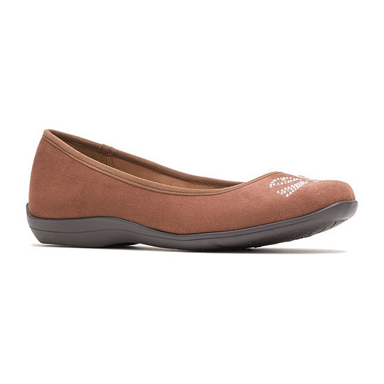 Hush Puppies Womens Kittycat Slip-On Shoe Round Toe