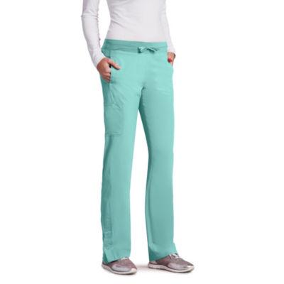 Barco™ One Women's 5205 Low Rise Knit Waist Cargo Track Scrub Pant - Plus