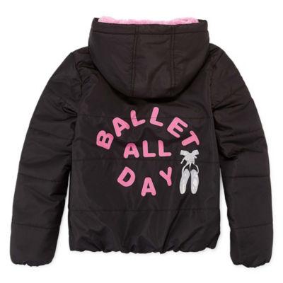 "Rothschild ""Ballet All Day"" Puffer Jacket - Girls 4-16"