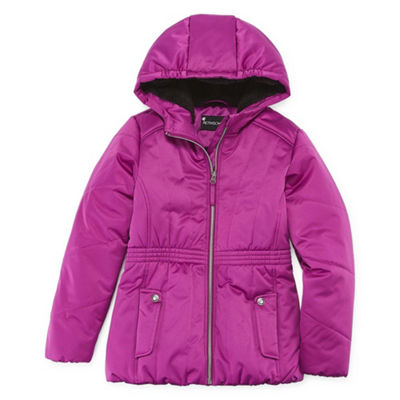 S Rothschild Girls Hooded Midweight Parka-Preschool