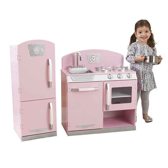 Kidkraft Retro Kitchen Refrigerator