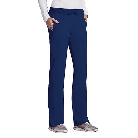 Barco® One™ 5205 Women's Low Rise Knit Waist Cargo Track Scrub Pants - Plus