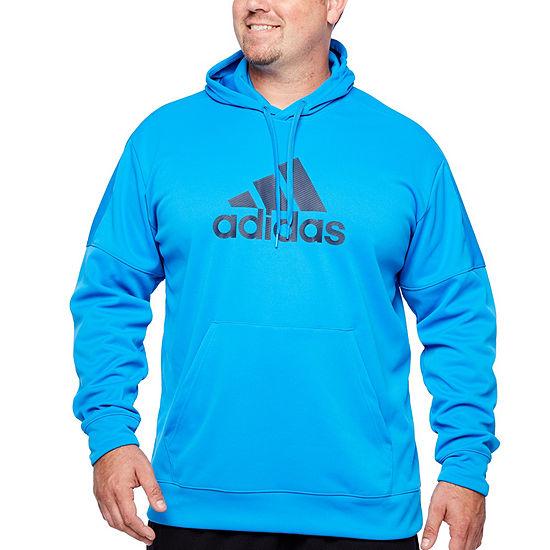 8aa1dce693 adidas Mens Long Sleeve Hoodie-Big and Tall