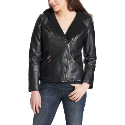 Levi's Hooded Midweight Motorcycle Jacket