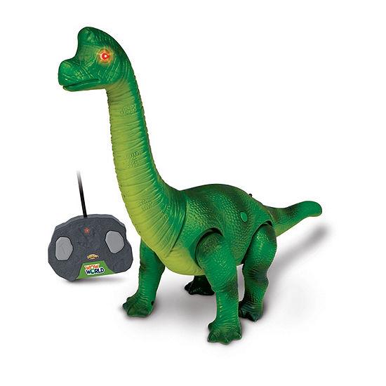 Nkok Wow World Brachiosaurus Dinosaur Remote Control Toy