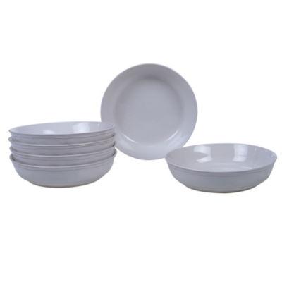 Certified International Orbit Cream 6-pc. Soup Bowl