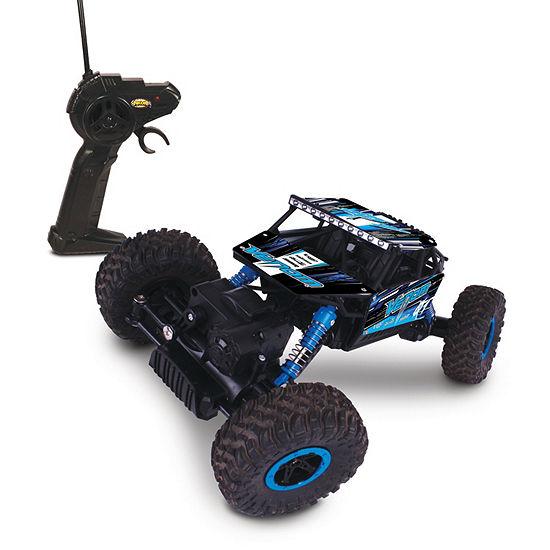 Mean Machines 1:16 Scale Radio Controlled Rock Crawler Venom (Rc)