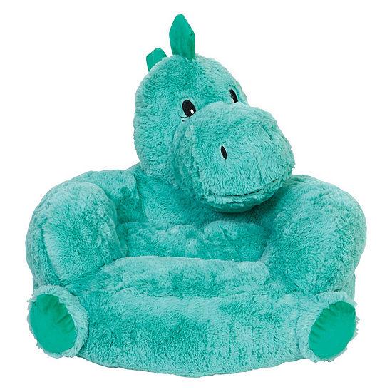 Trend Lab Children'S Plush Dinosaur Character Chair Kids Chair