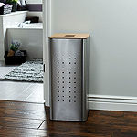 Household Essentials Square Metal Laundry Hamper