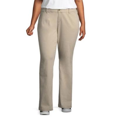Arizona Slim Fit Straight Pants-Juniors Plus