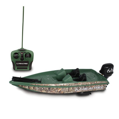 Nkok Realtree Full Function Remote Control Bass Boat (Rc)