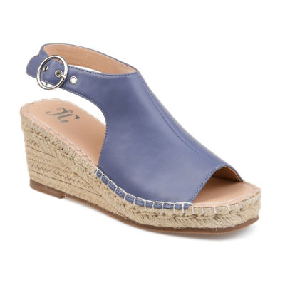 Journee Collection Womens Crew Wedge Sandals