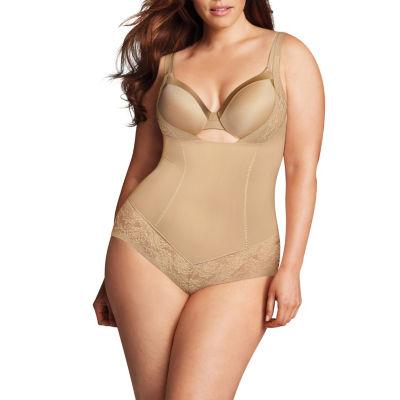 Maidenform Curvy Firm Foundations Wear Your Own Bra Body Shaper - 1025j