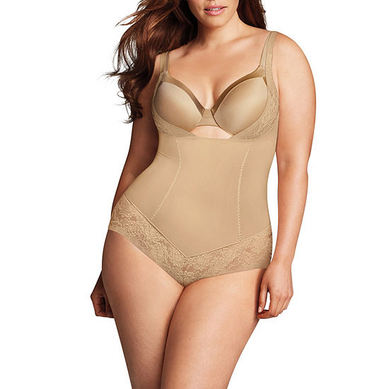 Maidenform Curvy Firm Foundations Wear Your Own Bra Firm Control Body Shaper - 1025j