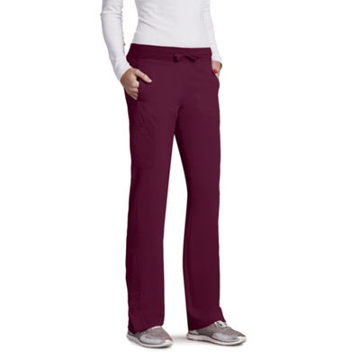 Barco™ One Women's 5205 Low Rise Knit Waist Cargo Track Scrub Pant - Plus