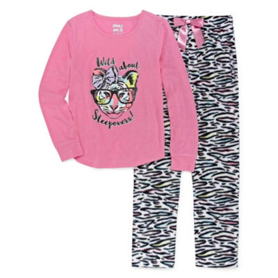 Sleep On It 2-pc. Pant Pajama Set Girls