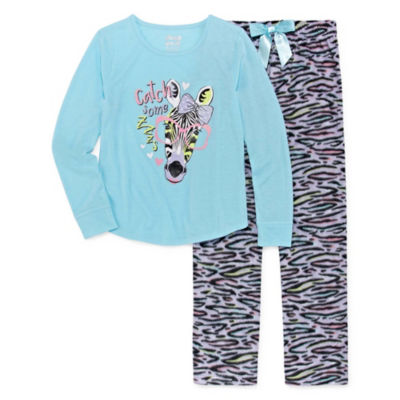 Sleep On It 2 pc Pant Pajama Set - Girls