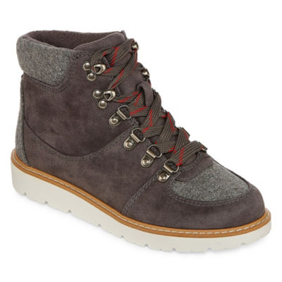a.n.a Womens Albany Bootie Lace-up