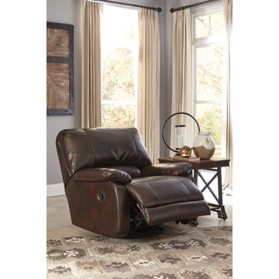 Signature Design By Ashley® Hallettsville Swivel Glider Recliner
