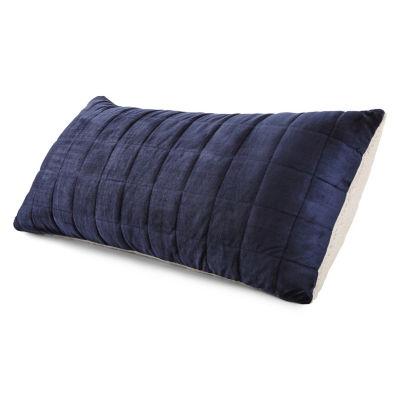 Faux Mink to Reverse Faux Sherpa Body Pillow