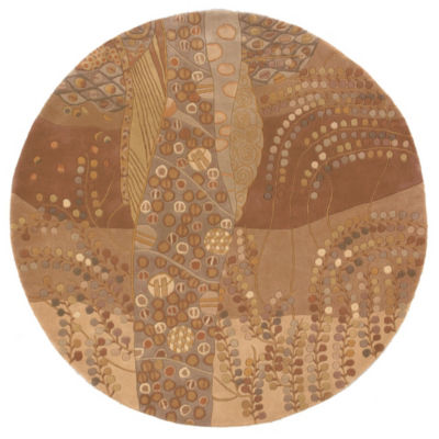 Momeni New Wave 01 Hand Tufted Round Rugs