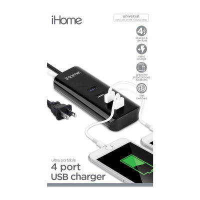 iHome 3A 4-USB Multi-Charge Hub