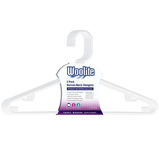 5-Pack Swivel Hanger With Accessory Hook