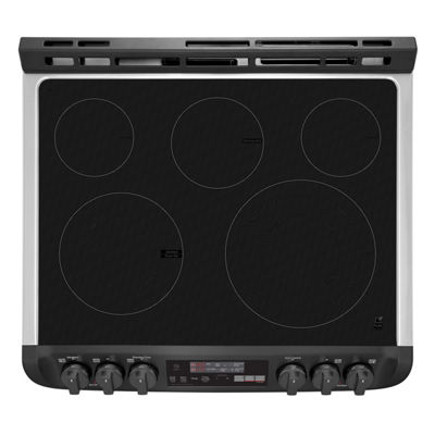 LG 7.3 cu.ft. Smart Wi-Fi Enabled Electric Double Oven Slide-In Range with ProBake Convection®