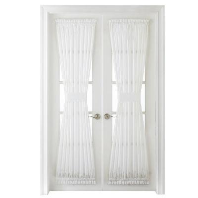 Thermal Rod-Pocket Door Panel Curtain
