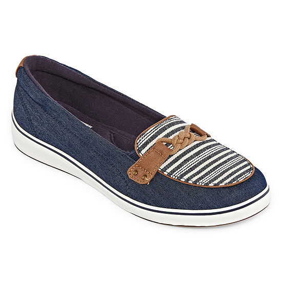 0c62bf77cb Grasshoppers Womens Windham Boat Shoes Slip-on