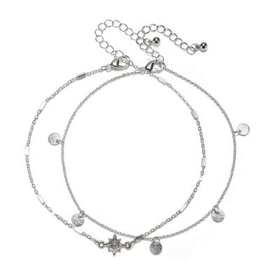 Mixit Womens Silver Tone 2-pc. Jewelry Set