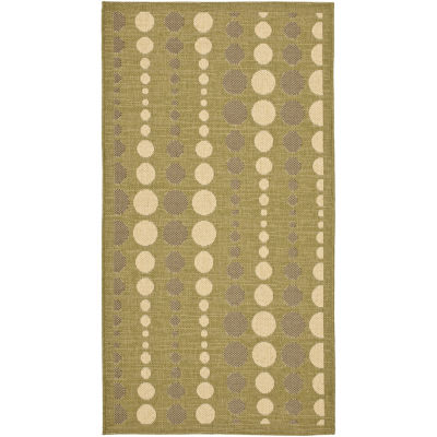 Safavieh Courtyard Collection Joisse Geometric Indoor/Outdoor Area Rug