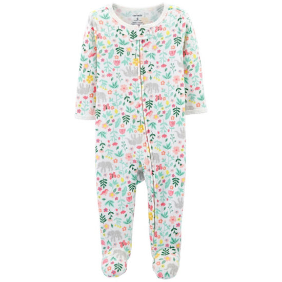 Carter's Infant Footed Thermal - Baby Girls