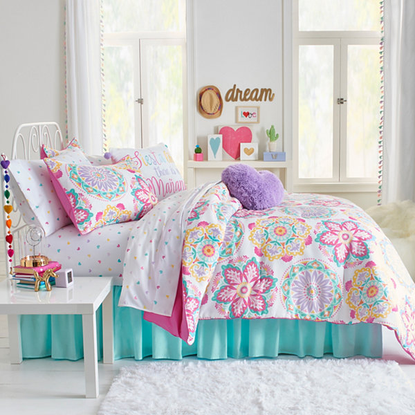 Frank And Lulu Ariana Midweight Reversible Comforter Set