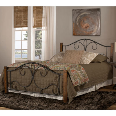 Destin Wood and Metal Bed