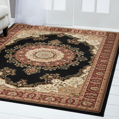 Home Dynamix Regency Taka Border Rectangular Rug