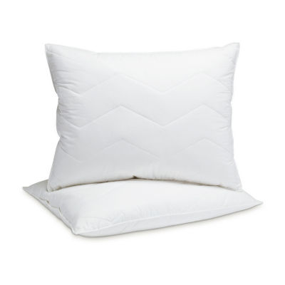 Mini Feather Pillow Set of 2 Medium Firmness