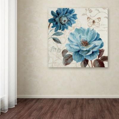 Trademark Fine Art Lisa Audit A Blue Note III Giclee Canvas Art