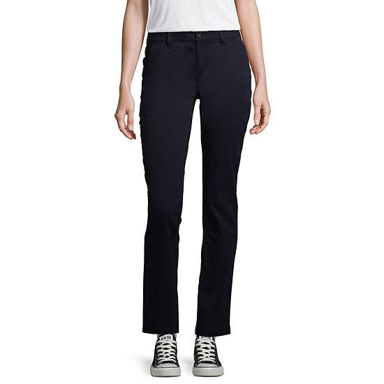 Arizona Slim Fit Straight Pants Juniors