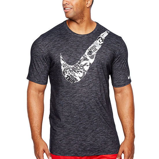 Nike Mens Crew Neck Short Sleeve Moisture Wicking T Shirt Big And Tall